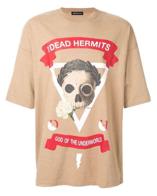 メンズ Undercover Dead Hermits Tシャツ Multicolor