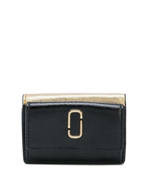 Mini portefeuille Snapshot Marc Jacobs en coloris Black