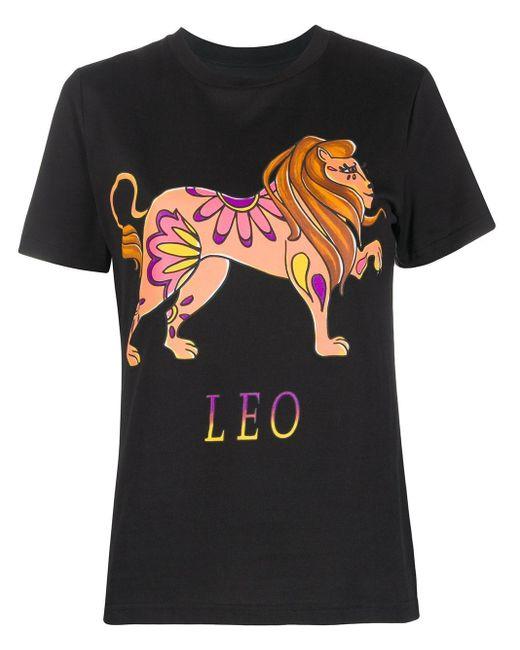 T-shirt Leo di Alberta Ferretti in Black