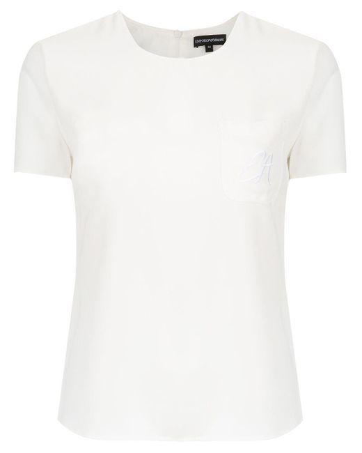 Emporio Armani ポケット Tシャツ White