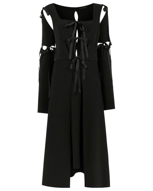 Midi Panelled Dress Gloria Coelho, цвет: Black