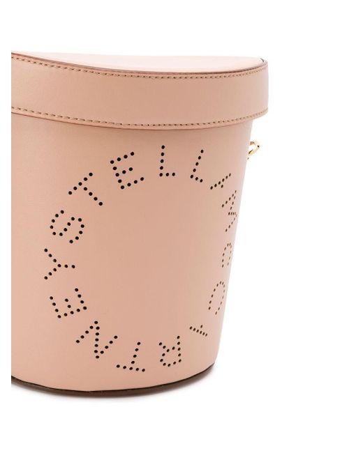 Сумка-ведро Stella McCartney, цвет: Pink
