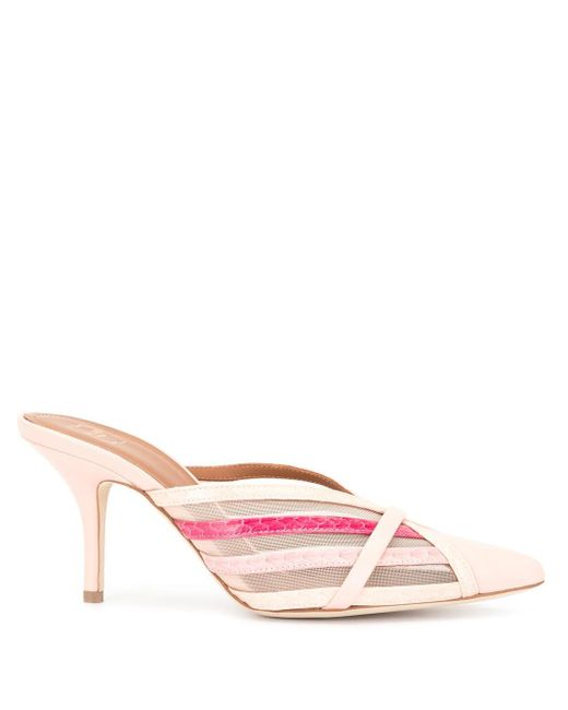 Malone Souliers Piper ストラップ ミュール Pink
