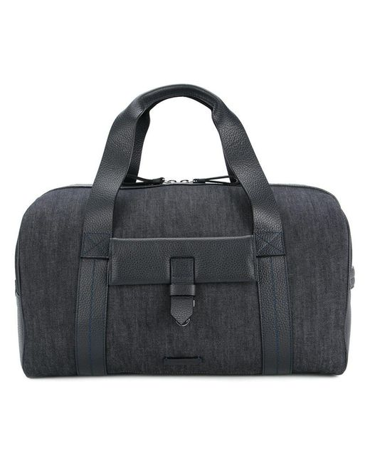 Cerruti 1881 - Blue Reisetasche mit Leder-Details for Men - Lyst