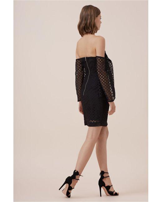 keepsake last dance mini dress in black lyst. Black Bedroom Furniture Sets. Home Design Ideas