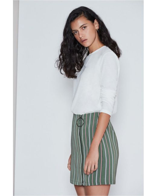 The Fifth Label - Multicolor Axial Stripe Skirt - Lyst