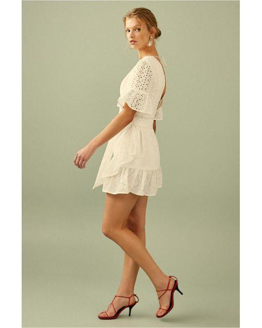 ... C meo Collective - White Solstice Mini Dress - Lyst ... 7dc613920