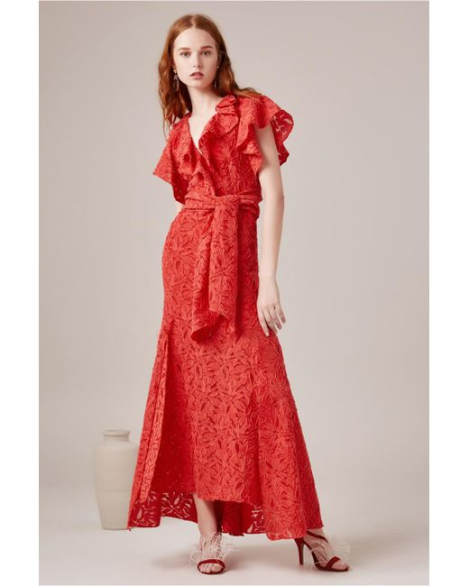 C/meo Collective - Red More To Give Gown - Lyst