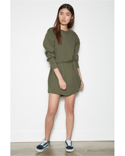 The Fifth Label - Green Hideout Long Sleeve Dress - Lyst