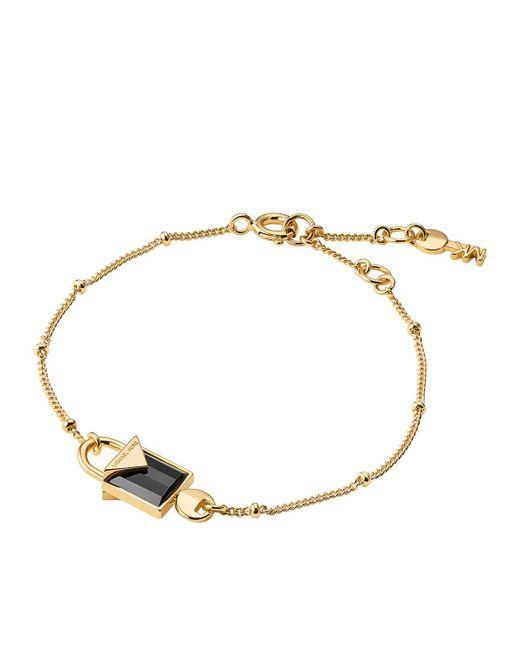 Michael Kors - Metallic Mkc1041am710 Padlock Bracelet Gold - Lyst