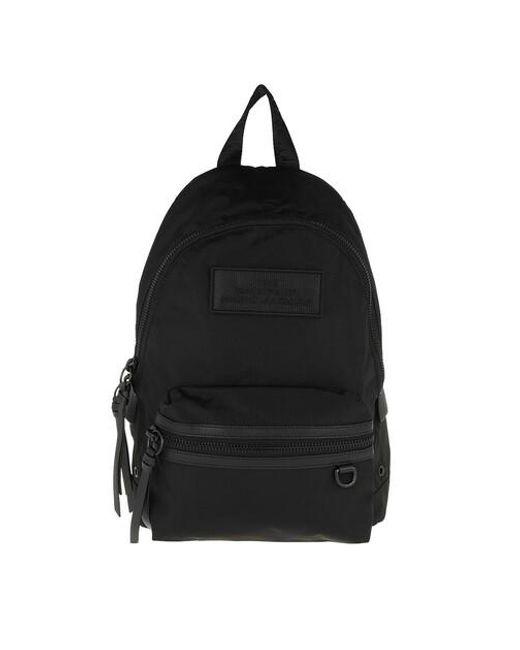 Marc Jacobs Black The Medium Backpack Dtm