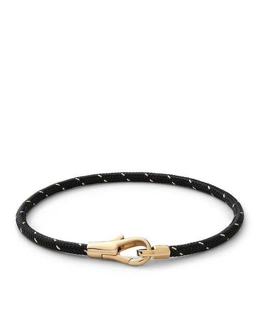 Knox Rope Bracelet Vermeil Polished S Miansai en coloris Brown
