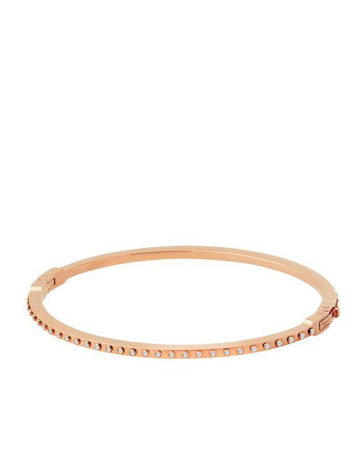 Michael Kors | Brown Micro Muse Bracelet Rosegold | Lyst