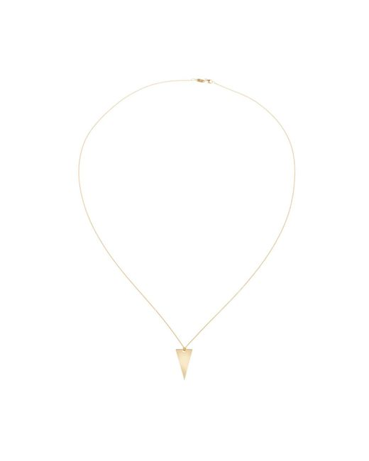 Thomas Sabo - Metallic Glam And Soul Necklace Sterling Silver Collier Triangle Gold - Lyst