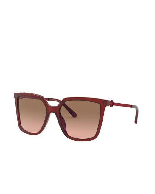 Woman Sunglasses Acetate Tory Burch en coloris Brown