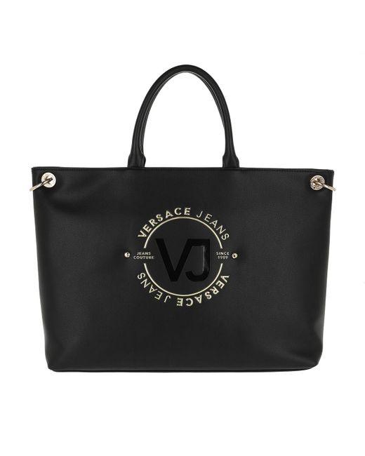 Versace Jeans Handle Bag Black in Black - Lyst 877737065d