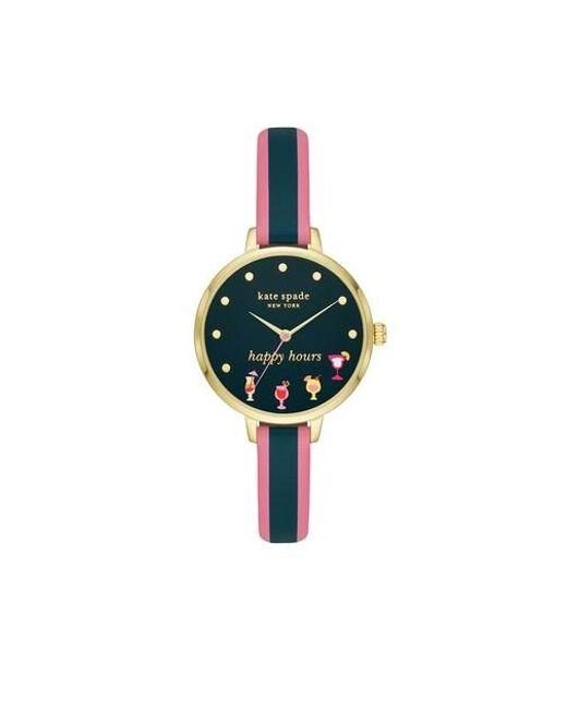 Metro Watch Kate Spade en coloris Multicolor