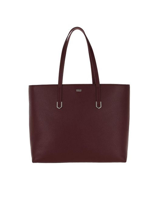 HUGO | Multicolor Nadalia Shopper Bordeaux | Lyst