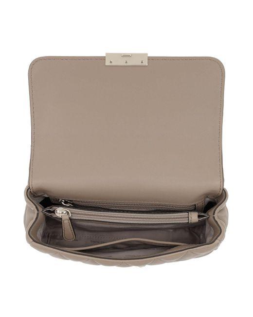 34b87a7ad726 ... Michael Kors - Natural Sloan Lg Chain Shoulder Bag Truffle - Lyst ...