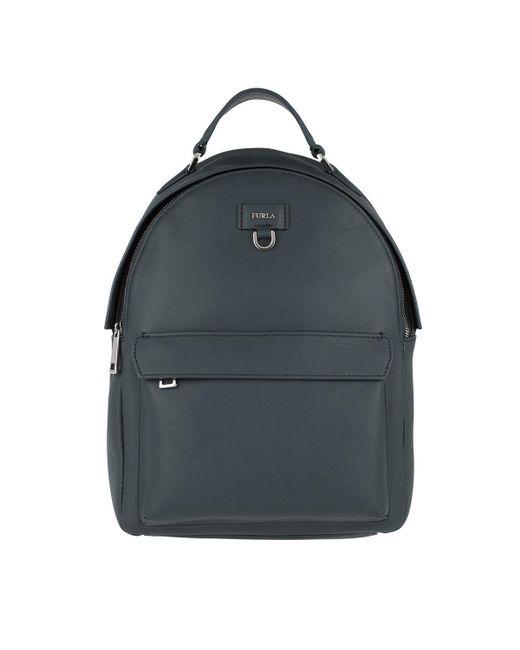 Furla - Blue Favola S Backpack Ardesia - Lyst
