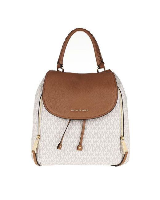 Viv Lg Backpack Vanilla/Acorn Michael Kors en coloris Natural