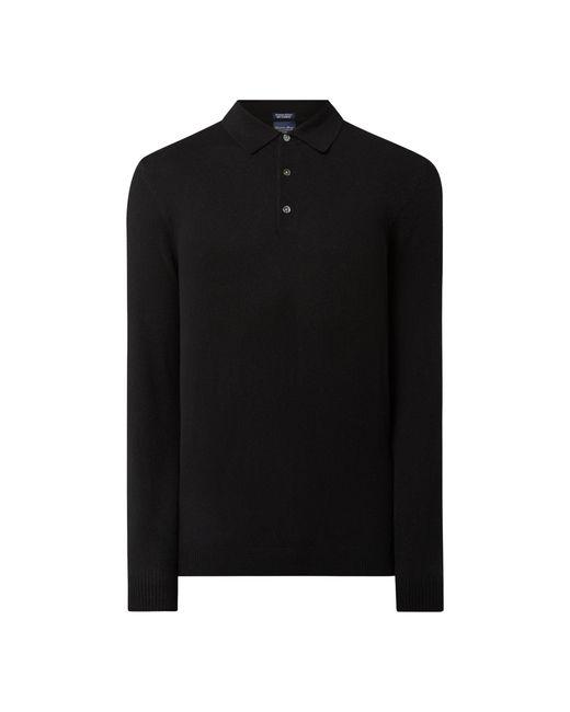 Christian Berg Men Pullover aus Kaschmir in Black für Herren