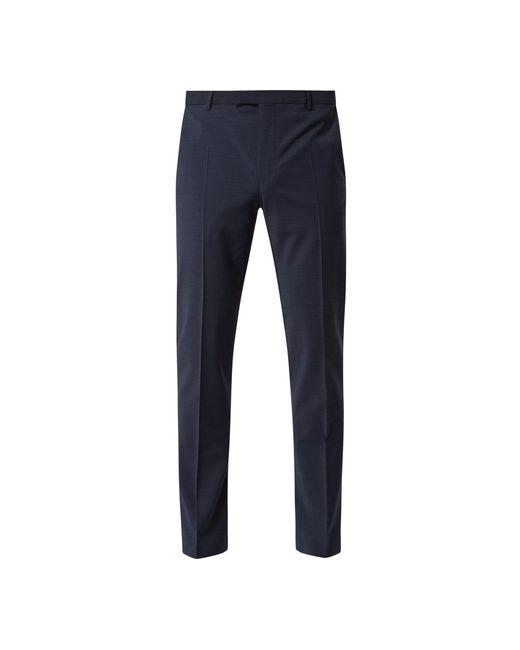 Strellson Slim Fit Anzughose mit Bügelfalten in Blue für Herren