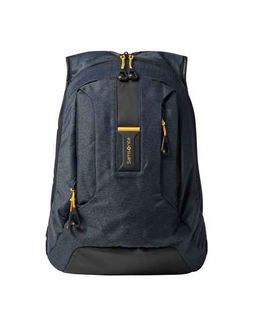 Samsonite Rucksack mit gepolstertem Laptopfach Modell 'Paradiver Light' in Blue für Herren