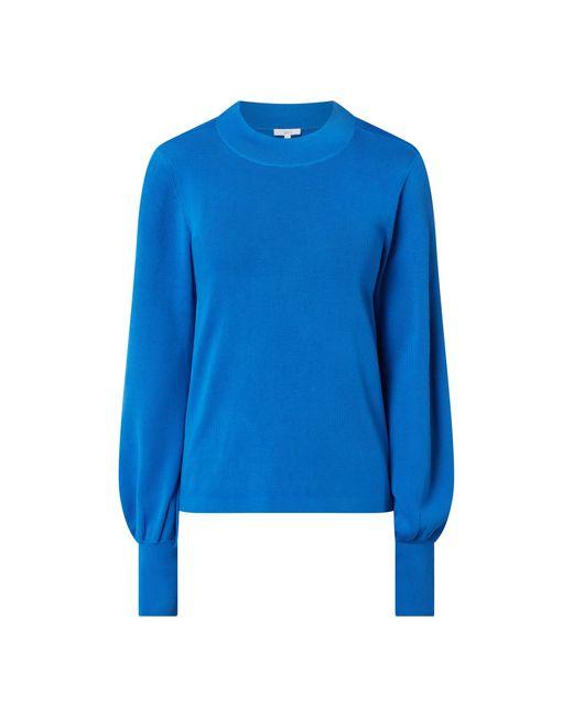 Jake*s Casual Blue Pullover mit Ballonärmeln