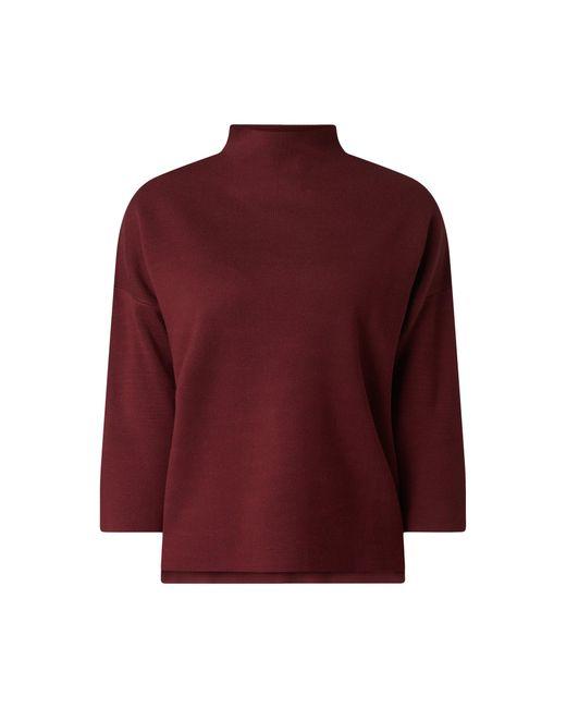 Jake*s Collection Red Pullover mit Stehkragen