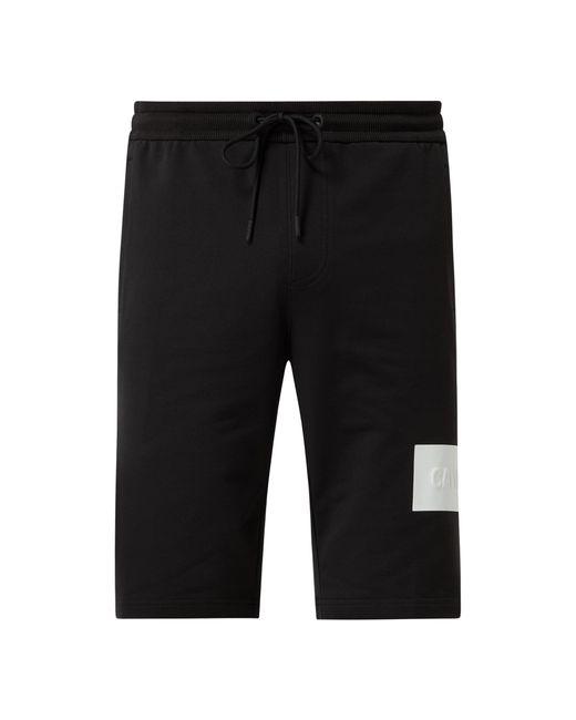Calvin Klein Sweatshorts mit Stretch-Anteil in Black für Herren