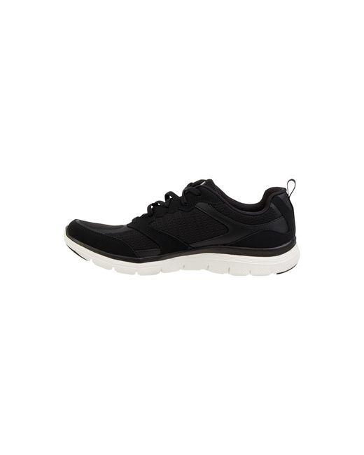 Skechers Black Sneaker aus Mesh Modell 'Flex Appeal 4.0'