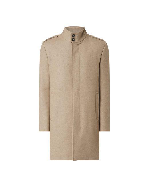 Cinque Mantel aus Wollmischung Modell 'Cisterling' in Natural für Herren