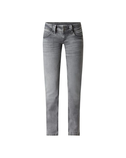Pepe Jeans Gray Straight Fit Jeans mit Stretch-Anteil