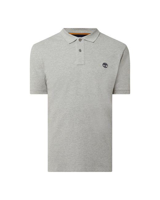 Timberland Regular Fit Poloshirt aus Piqué Modell 'Millers River' in Gray für Herren