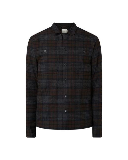 SELECTED Regular Fit Freizeithemd aus Bio-Baumwolle Modell 'Kane' in Black für Herren