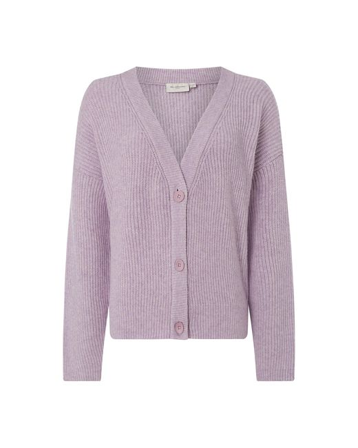 Only Carmakoma Purple PLUS SIZE Cardigan aus Viskosemischung Modell 'Caresly'