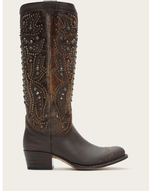 Frye | Brown Deborah Deco Tall | Lyst