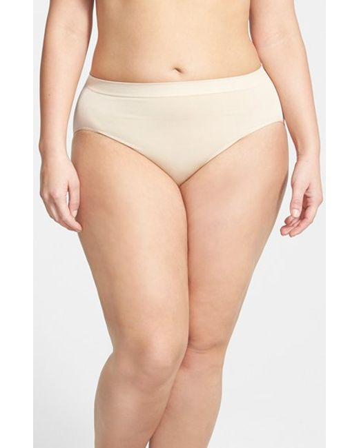 Wacoal | Natural 'b Smooth' High Cut Briefs | Lyst