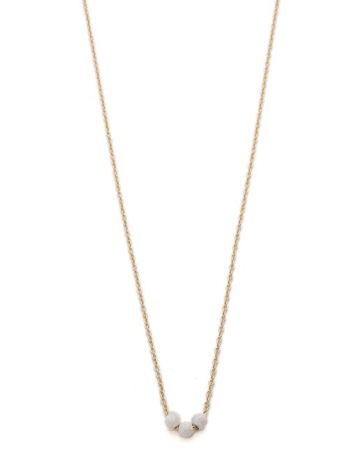 Dogeared | Metallic Three Wishes Stardust Bead Necklace | Lyst