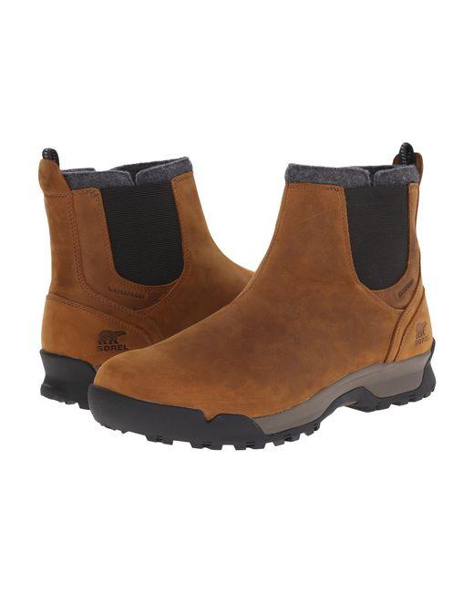 Sorel | Brown Paxson Chukka Waterproof for Men | Lyst