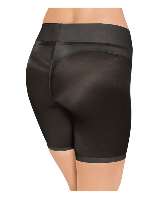 Wolford | Black Sheer Touch Control Shorts | Lyst