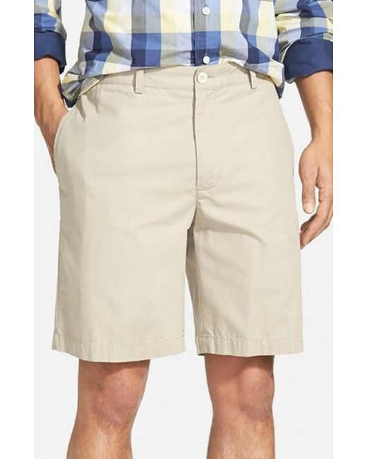 Vineyard Vines | Natural 'summer' 9 Inch Flat Front Twill Shorts for Men | Lyst