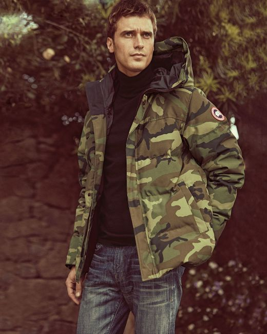 Canada Goose parka sale cheap - Canada goose Macmillan Hooded Parka Coat in Green for Men | Lyst