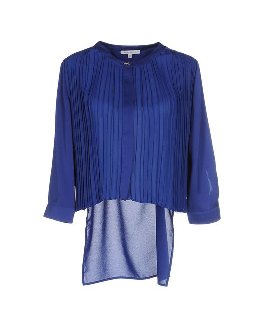 Patrizia Pepe | Blue Shirt | Lyst
