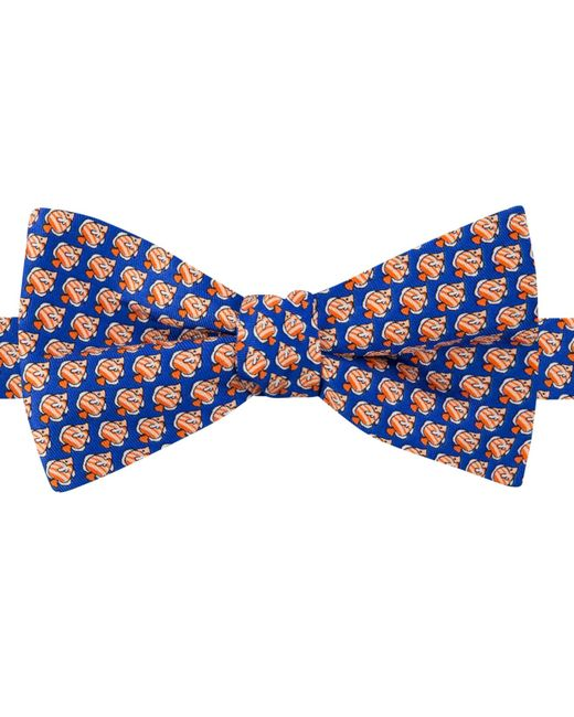 Tommy hilfiger men 39 s fish print to tie bow tie in orange for Fish bow tie