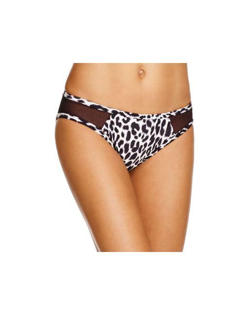 Carmen Marc Valvo | Black Hipster Bikini Bottom | Lyst