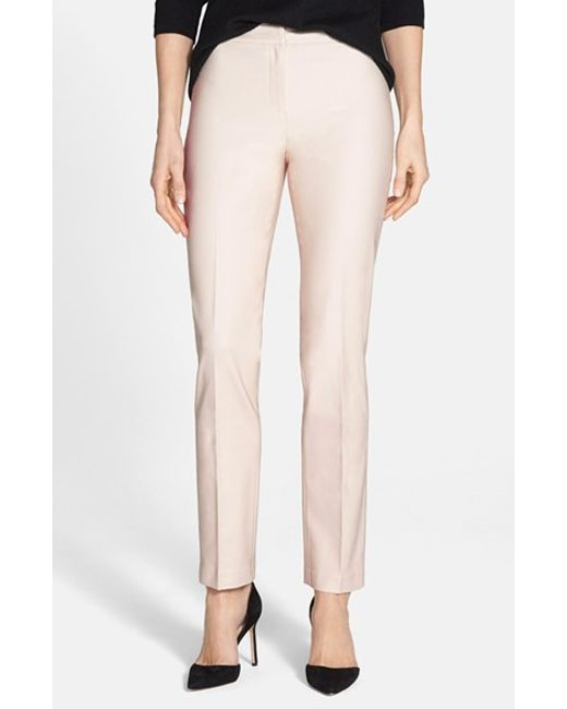 NIC+ZOE | Natural 'the Perfect' Ankle Pants | Lyst