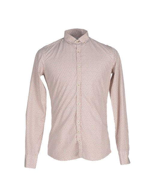 Aglini | White Shirt for Men | Lyst