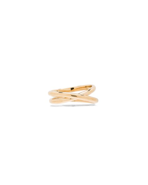 Maison Margiela | Metallic Fine Twisted Ring | Lyst